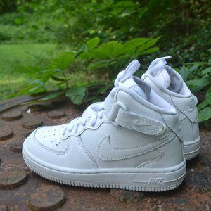 Nike Air Force 1 Mid White Size 13C